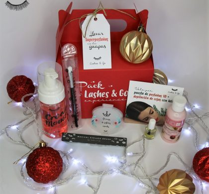El Pack Lashes & Go Experience, un regalo perfecto para Navidad