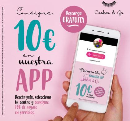 La app Lashes & Go, gran protagonista de la promoción de junio