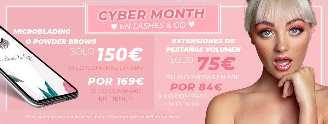 Cyber Month en Lashes & Go