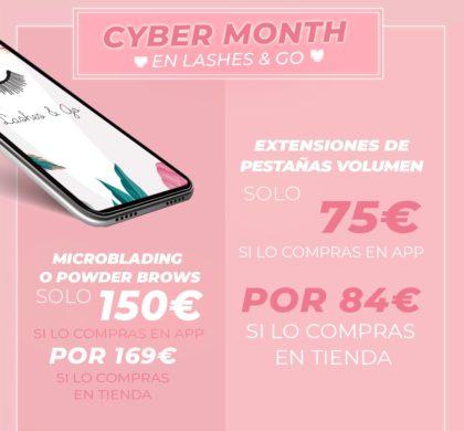 Vive el Cyber Month en Lashes & Go