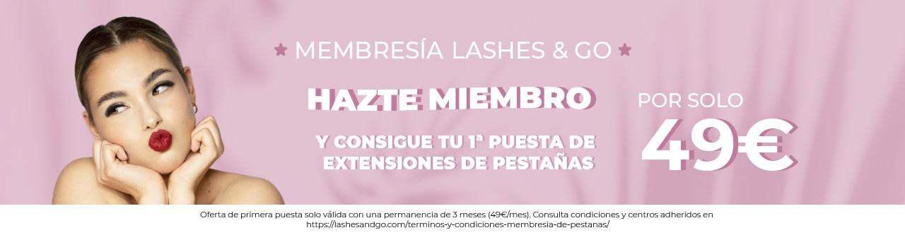Membresía Lashes & Go